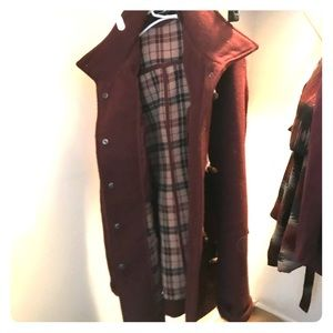 Maroon Thick Coat